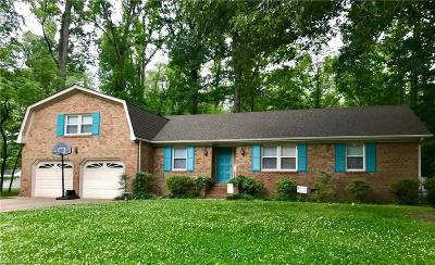 Virginia Beach Single Family Home Under Contract: 5717 Lancelot Dr