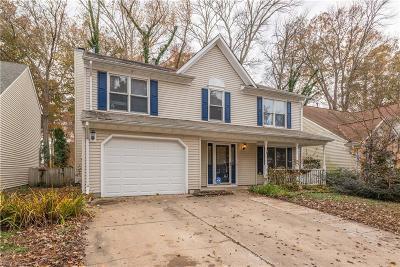 Virginia Beach Single Family Home New Listing: 1125 Eagle Way