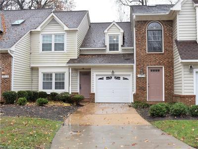 Chesapeake Single Family Home For Sale: 1305 Tuckaway Rch #C