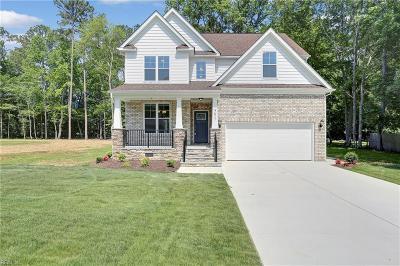 Newport News Single Family Home New Listing: 551 Taliaferro Rd