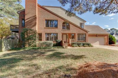 Virginia Beach Single Family Home New Listing: 4856 Kempsville Greens Pw