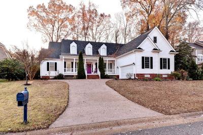 Williamsburg Single Family Home Under Contract: 2505 William Tankard Dr