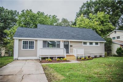 Hampton Single Family Home New Listing: 3320 W Lewis Rd