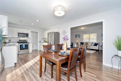 Newport News Single Family Home New Listing: 939 Moyer Rd