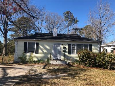Virginia Beach Multi Family Home Under Contract: 525 21st St #B