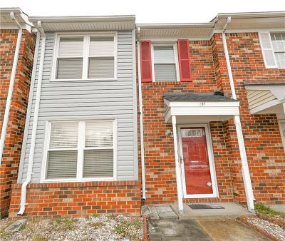 Chesapeake VA Single Family Home New Listing: $165,000