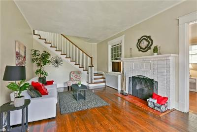 Norfolk Single Family Home For Sale: 1358 Magnolia Ave