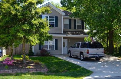 Chesapeake Single Family Home New Listing: 1316 Chestnut Ave