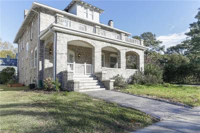 Norfolk Single Family Home For Sale: 1104 Bedford Ave
