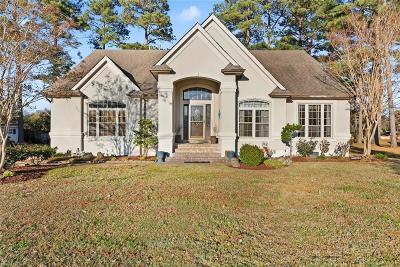 Virginia Beach Single Family Home New Listing: 2504 La Tierra Cir