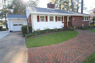 Norfolk Single Family Home New Listing: 111 Bayview Blvd E
