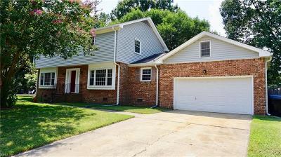 Virginia Beach Single Family Home New Listing: 505 Pleasant Hall Dr