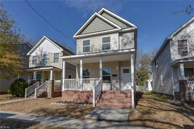 Portsmouth Single Family Home For Sale: 1912 County St