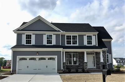 Chesapeake Single Family Home New Listing: 1816 Carrera Rdg