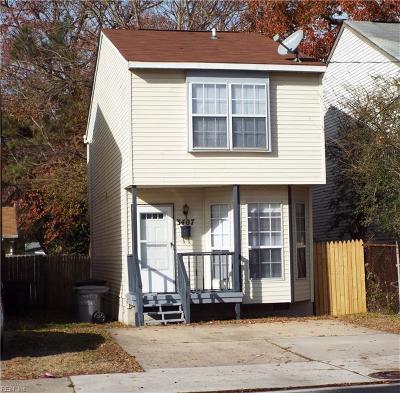 Hampton Single Family Home New Listing: 3407 Shell Rd