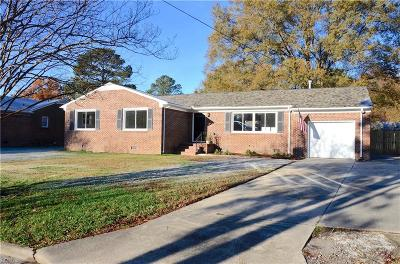 Portsmouth Single Family Home For Sale: 3512 Doerr Rd