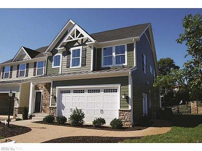 Williamsburg Single Family Home Under Contract: 217 Fletchers Cres #17B