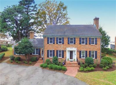 Norfolk Single Family Home New Listing: 5915 Studeley Ave
