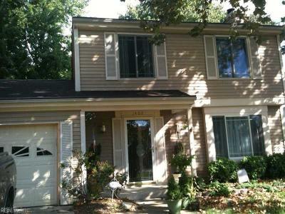 Hampton Single Family Home New Listing: 1402 Paul Jack Dr