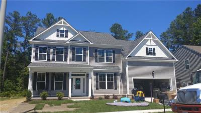 Chesapeake Single Family Home Under Contract: 233 Dunway Ln