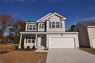 Chesapeake Single Family Home New Listing: 1012 Sun Ave