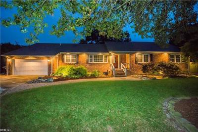 Virginia Beach Single Family Home New Listing: 612 S Claypool Ct