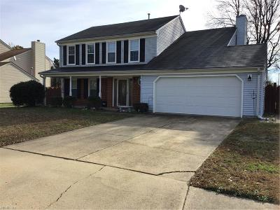 Virginia Beach Single Family Home New Listing: 5505 Merner Ln