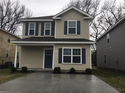 Chesapeake Single Family Home New Listing: Mm Hickory M