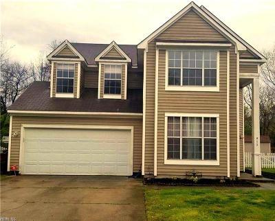 Chesapeake Single Family Home New Listing: 915 Deer Xing