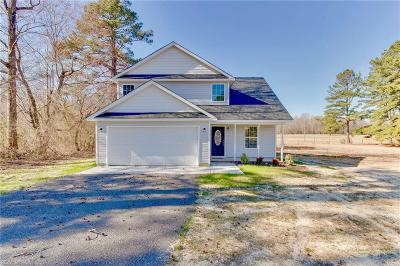 Suffolk Single Family Home New Listing: 7190 Corinth Chapel Rd