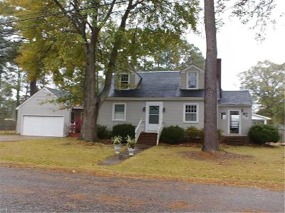 Chesapeake Single Family Home New Listing: 3900 South Rd