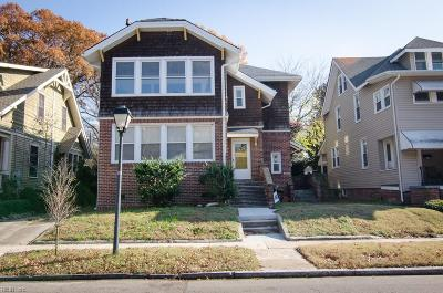 Norfolk VA Multi Family Home For Sale: $329,900