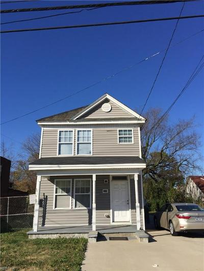 Norfolk VA Multi Family Home For Sale: $165,000