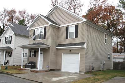 Chesapeake Single Family Home New Listing: 1004 Trestle Way