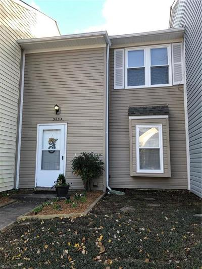 Virginia Beach Single Family Home New Listing: 3684 Windmill Dr