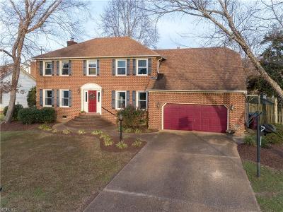 Chesapeake Single Family Home New Listing: 231 Kensington Way