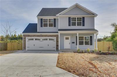 Norfolk Single Family Home New Listing: 525 Draper Dr