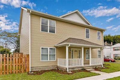 Norfolk Single Family Home New Listing: 1473 Proescher St