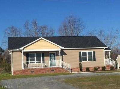 Suffolk Single Family Home New Listing: 6819 Ruritan Blvd