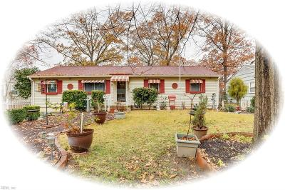 Newport News Single Family Home New Listing: 214 Robinson Dr