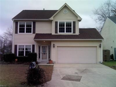Chesapeake Single Family Home New Listing: 907 Lee Shores Ct