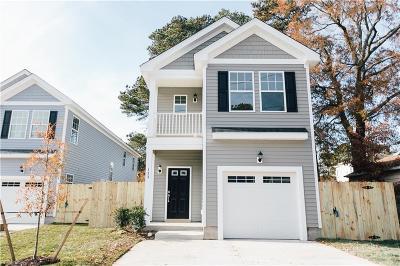Virginia Beach Single Family Home New Listing: 133 S Thalia Rd