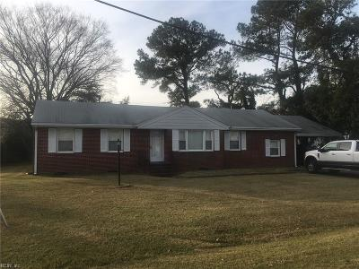 Western Branch Single Family Home For Sale: 4341 Coffman Blvd