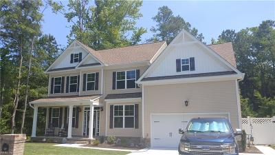 Chesapeake Single Family Home Under Contract: 241 Dunway Ln