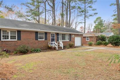 Virginia Beach Single Family Home New Listing: 937 Baillio Dr