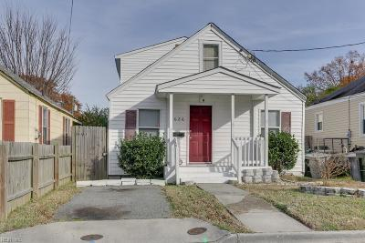 Hampton Single Family Home New Listing: 626 Hannah St