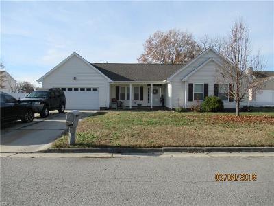 Suffolk Single Family Home New Listing: 2419 Cherry Blossom Dr