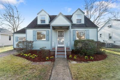 Norfolk Single Family Home New Listing: 325 Glendale Ave
