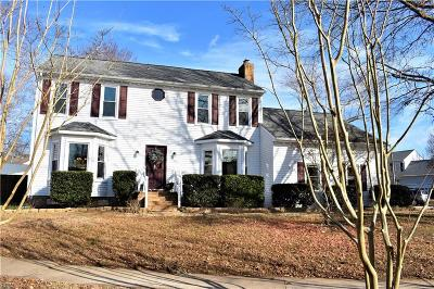 Virginia Beach Single Family Home New Listing: 2448 Broomsedge Trl