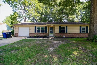 Portsmouth Single Family Home New Listing: 3713 Red Barn Rd